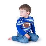 Boy's Shirt with Applique Football