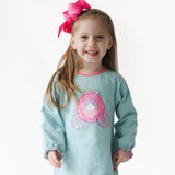 Carriage Applique Girl's Clothing