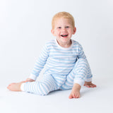 Kids Unisex Stripes Cotton Pajamas