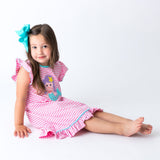 Mermaid Applique Baby Dress