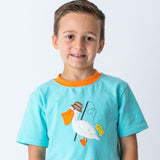 Pelican Applique Short Set for Boys