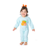 Applique Pumpkins Baby Romper