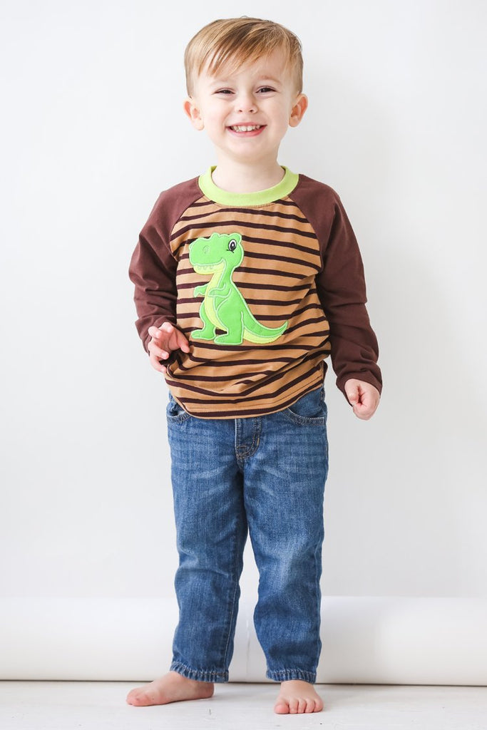 Applique Dino Shirt