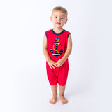 Applique Anchor Boy's Romper