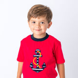Anchor Applique Summer Short Set | Wholesale Kids Short Sets