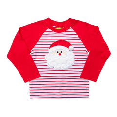 Santa Applique Boy's Shirt L/S - 48H21
