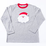 Applique Santa Christmas Family Loungewear
