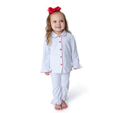 White Christmas Girl's Pajamas