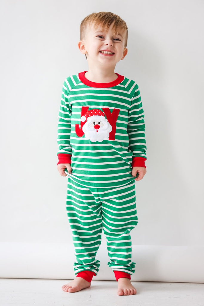 Applique Joy Santa Knit Loungewear