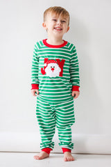 81-F18 Applique JOY Santa Unisex Loungewear