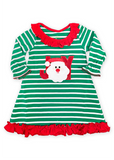 980-F18 Applique Christmas Joy Gown Loungewear