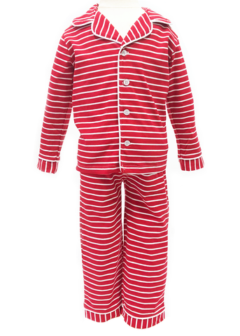 9121H18 - Red Baby Girl's Knit Romper