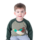 Applique Mallard Duck Boy's Shirt