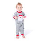 Applique Santa Boy's Christmas Loungewear