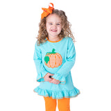 Fall Pumpkin Fall Girl's Pants Set