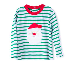 45H20 Santa Applique Boy's T-Shirt