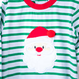 Santa Applique Boys Romper