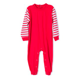 Blank Red Christmas Pajama for Boys and Girls