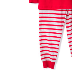 61L20 Blank Red Unisex 2 Piece Christmas Loungewear