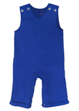 Boys wholesale blanks for monogram, Royal Blue Knit Boys Longall, Boys blank longall, wholesale blanks for kids