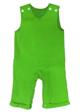 Boys wholesale blanks for monogram, Green Knit Boys Longall, Boys blank longall, wholesale blanks for kids