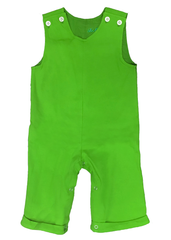 125H18 - Green Knit Baby Boy's Longall