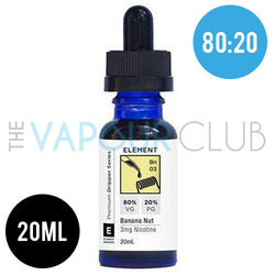 Banana Nut (Banana and Caramel) by Element - 20ml (80:20)