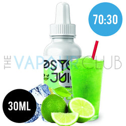 Crazy Ice Lime (Lime Slushie) by Psyco Juice - 30ml (70:30)