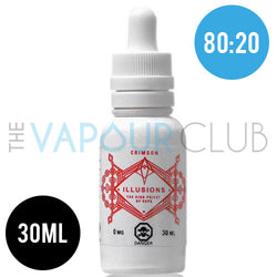 Crimson (Strawberry & Yoghurt) by Illusions - 30ml  (80:20)