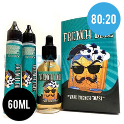 French Dude (French Toast and Blueberries) by Vape Breakfast - 60ml (80:20)