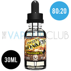 Mangabeys (Tropical Fruits) by Twelve Monkeys - 30ml (80:20)