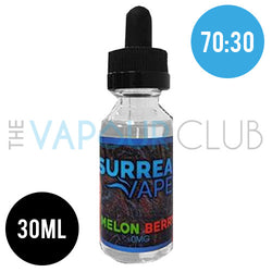 Melon Berry (Honeydew and Berries) by Surreal Vapes - 30ml (70:30)