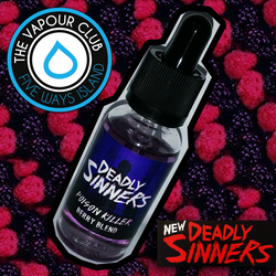 Poison Killer (Berry Blend) by Deadly Sinners - 30ml (80:20)