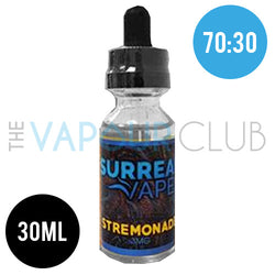 Stremonade (Strawberry Lemonade) by Surreal Vapes - 30ml (70:30)