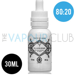 Taste of Gods (Coconut, Pineapple, Blackcurrant) by Illusions - 30ml (80:20)