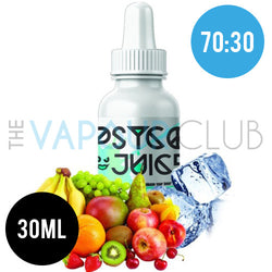 Walter White (Fruity and Menthol) by Psyco Juice - 30ml (70:30)
