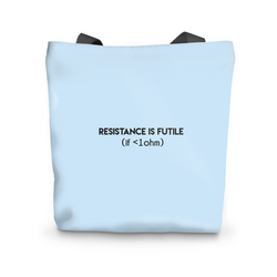 Resistance is Futile - Tote Bag