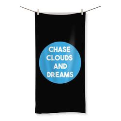 Chase Clouds and Dreams - Beach Towel