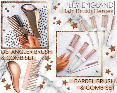 How to style it out with our newest Hair Brush Sets!
