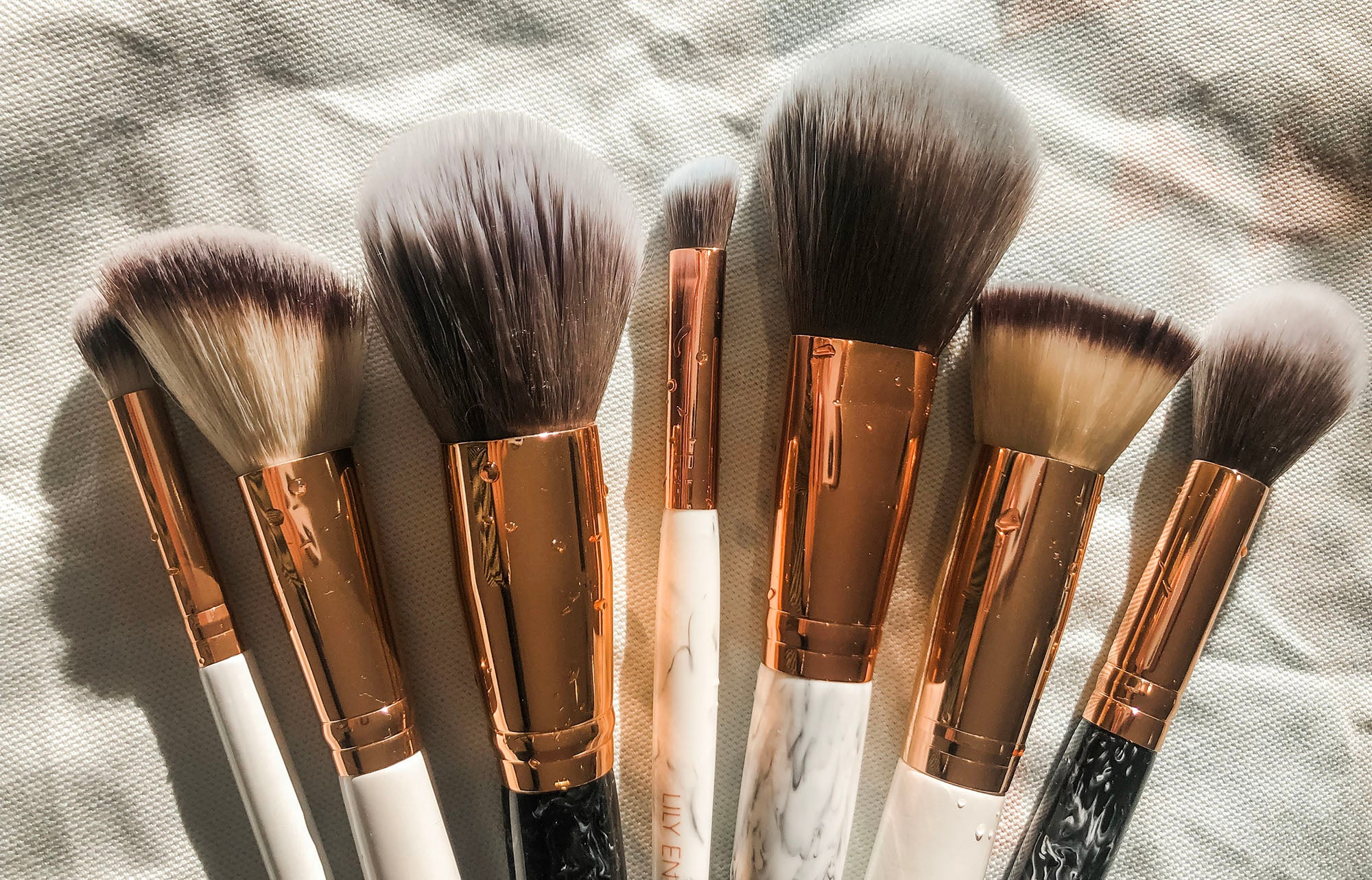 how to clean makeup brushes diy naturally