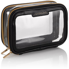 lily England clear makeup bag for travel best