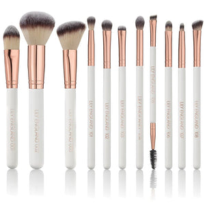 Ultimate Makeup Brush Set - Rose Gold