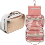 Large Hanging Wash Bag - Rose Gold