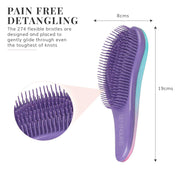 Detangling Hair Brush - Mermazing