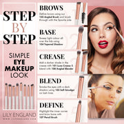 The Eye Makeup Brush Set - Rose Gold