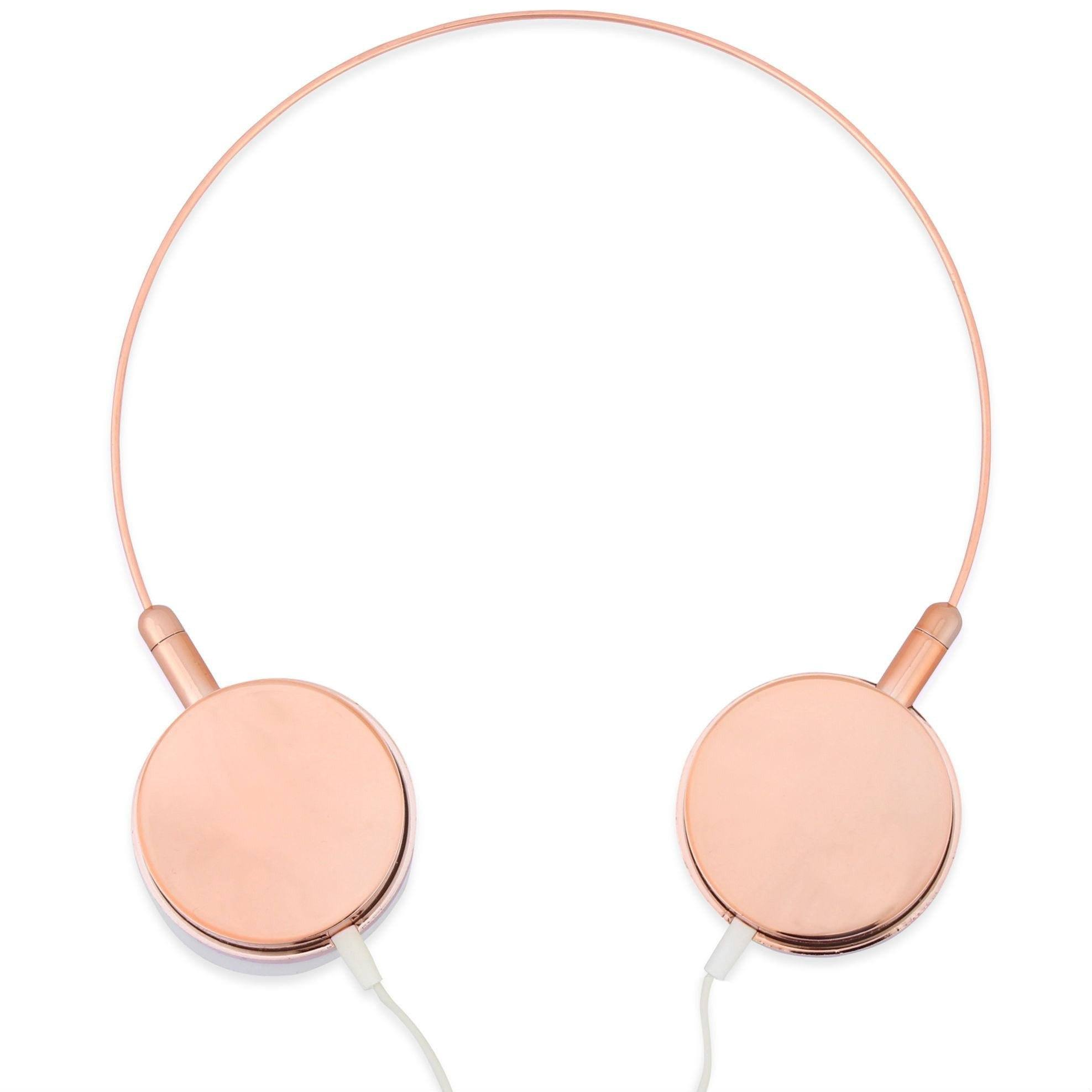 Rose Gold Iphone  Headphones