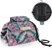 Lazy Makeup Bag Drawstring - Tropical Print