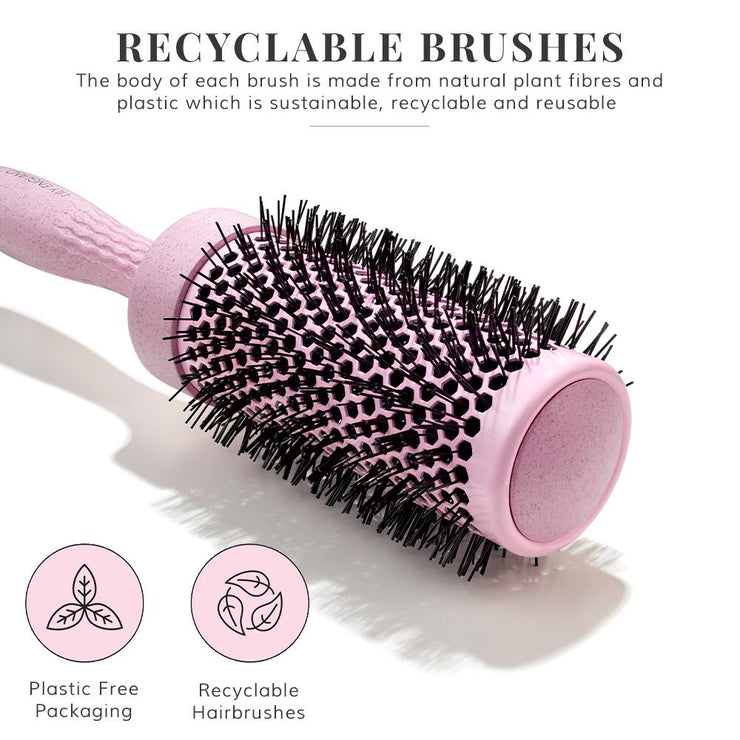 Eco Kind Round Barrel Brush Set - Pink