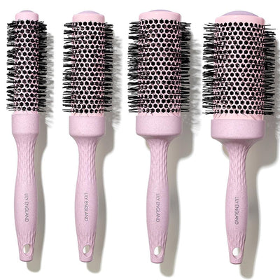 Perfectly Imperfect Eco Kind Round Barrel Brush Set - Pink