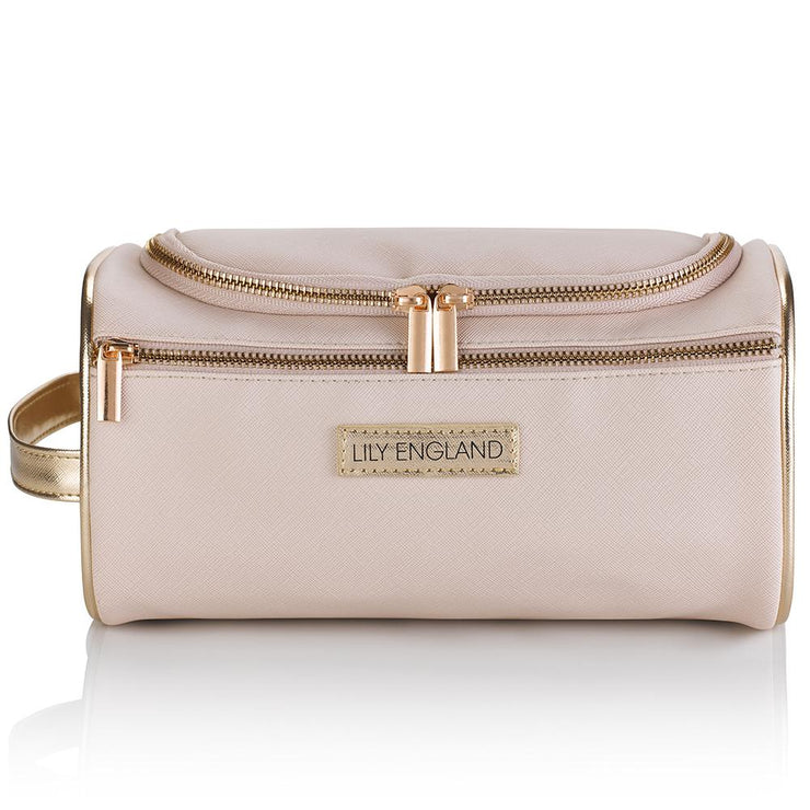 Large Cooler Wash Bag - Pink & Rose Gold